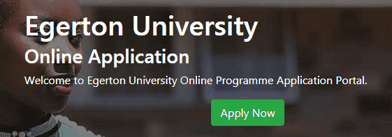 Egerton University Application Form Online