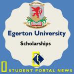 Egerton University Scholarships 2018 - RUFORUM and Bursary