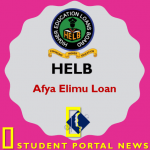 HELB Afya Elimu Loan Application Form - Apply Now