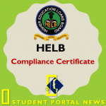 HELB Compliance Certificate Application