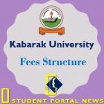 Kabarak University Fees Structure 2019/2020