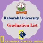 Kabarak University Graduation List