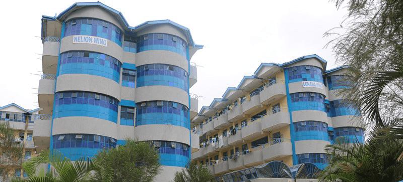 MKU Hostel bulding
