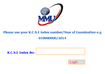 Download MMU KUCCPS Admission Letters 2019