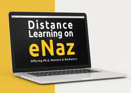 ANU Enaz Student Portal (Distance Learning)