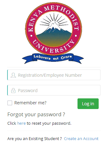 How to login KEMU Student Portal 2?