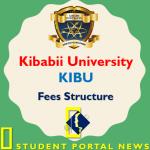 KIBU Fees Structure 2019/2020