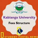Kabianga University Fees Structure 2019/2020