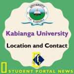 University of Kabianga (UoK) Location