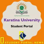 karu student portal