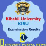 KIBU Examination Results (Student Portal)