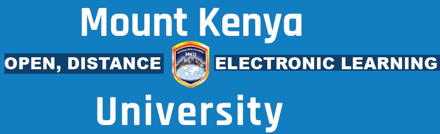 Mount Kenya University ODeL September 2020 Intake Programmes