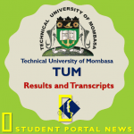 TUM Results and Transcripts