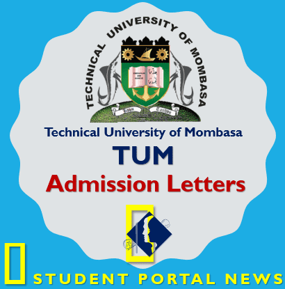 TUM Admission Letters Download (Technical University of Mombasa)