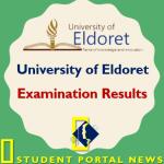 University of Eldoret Exam Results