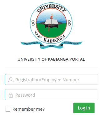 University Of Kabianga Portal Login