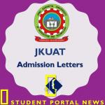 JKUAT Admission Letter 2019