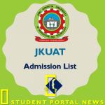 Download JKUAT Admission List 2019