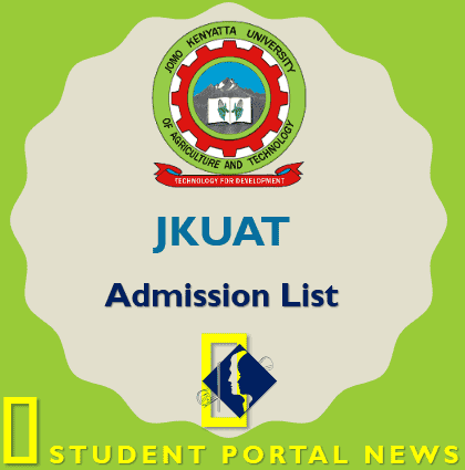 JKUAT Admission List 2019 : Confirm Your Admission Number