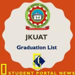 JKUAT Graduation List 2018