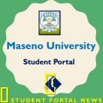 Maseno Student Portal : Main Campus and Kisumu Campus
