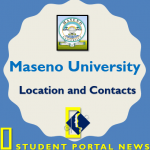 Maseno University Location and Contacts with full address