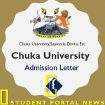 Chuka University Admission Letter 2019-2020 KUCCPS Download