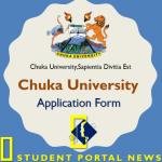 Chuka University Application Form 2019 Download