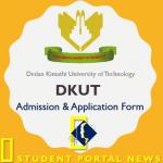 Dedan Kimathi University of Technology Admission and Application Form 2019/2020