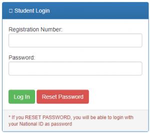 LoginChuka University Student Portal