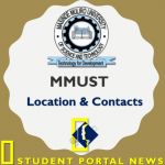 MMUST Contacts and Location