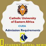 CUEA Entry Requirements