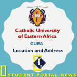 Catholic University of Eastern Africa (CUEA) Location and Address