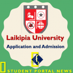 Laikipia University Application Form and Admission