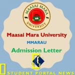mmarau Admission Letter 2019
