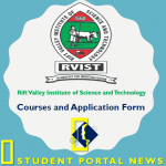 RVIST Courses and Admission Application Form Download