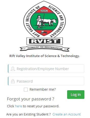 RVIST Student Portal Login