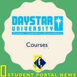Daystar University Courses (Certificate, Diploma, Undergraduate,Postgraduate)