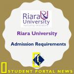 Riara University Admission Requirements 2019/2020