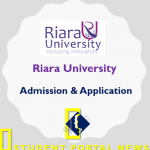 Riara University Admission and Application Form 2019/2020