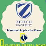 Zetech University Admission Application Form 2019/20 Online and Offline