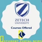 Zetech University Courses
