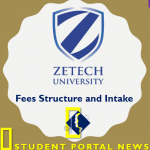 Zetech University Fees Structure and Intake (January, May & September)