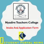 Nyadire Teachers College intake And Application Form