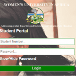 WUA Student Portal (Women's University in Africa)